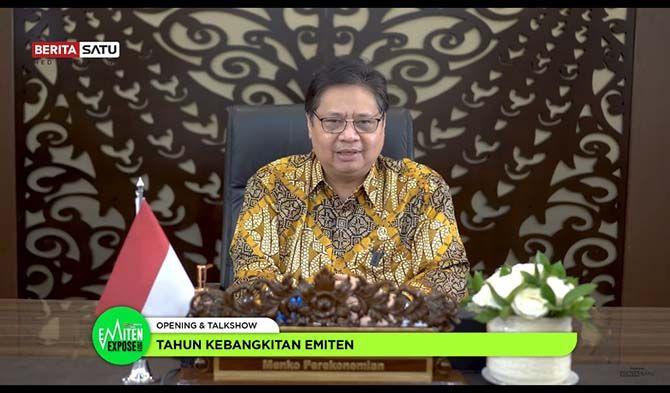 Airlangga Hartarto, Menteri Koordinator Bidang Perekonomian RI.