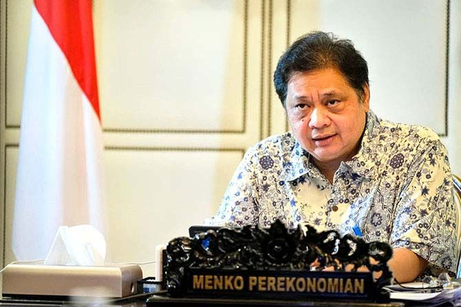 Airlangga Hartarto, Menko Perekonomian RI.