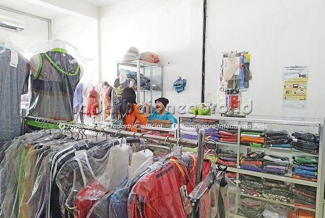POSITIF: Bisnis pakaian senam menunjukkan tren yang baik. Sebab, masyarakat banyak yang tertarik.