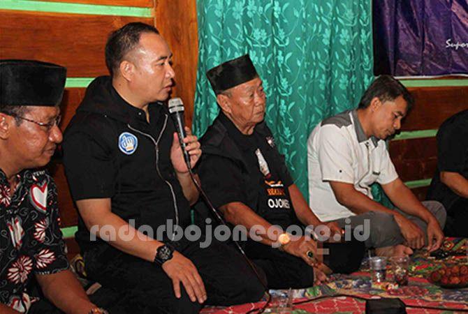 FIGUR MERAKYAT: Didik Mukrianto, SH, MH ketika sosialisasi empat pilar MPR RI di Bojonegoro, Senin (11/2).