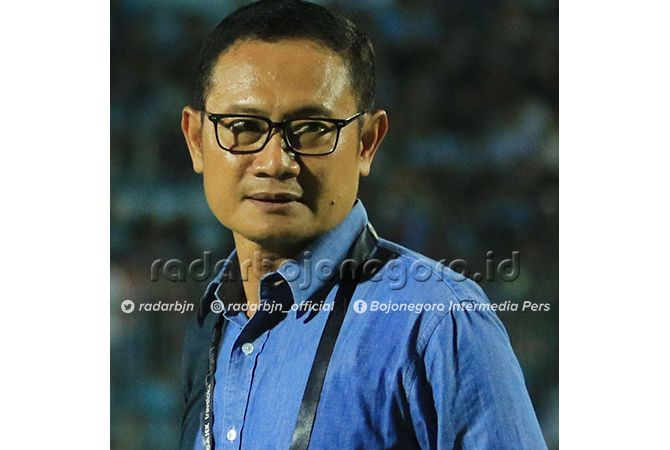INGINKAN SAMPAI KE FINAL: CEO Persela Lamongan, Yuhronur Effendy.