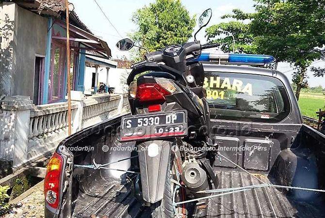 RINGSEK: Salah satu barang bukti kecelakaan yang terjadi di Bojonegoro.