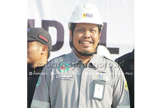 MOHAMMAD HERYONO, General Manager PT PJB UBJOM PLTU Tanjung Awar-Awar
