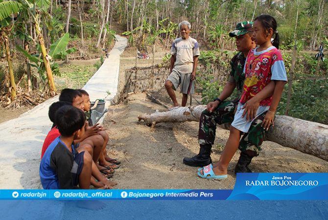 TNI Diharapkan Hadir Untuk Anak, Sadarkan Jiwa Nasionalisme