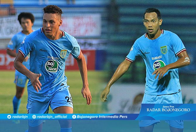 TERANCAM ABSEN : Lucky Wahyu dipastikan absen dan Rafinha masih fifty-fifty karena cedera engkel, saat Persela melawat ke kandang Borneo FC, pada Rabu (27/11) mendatang.