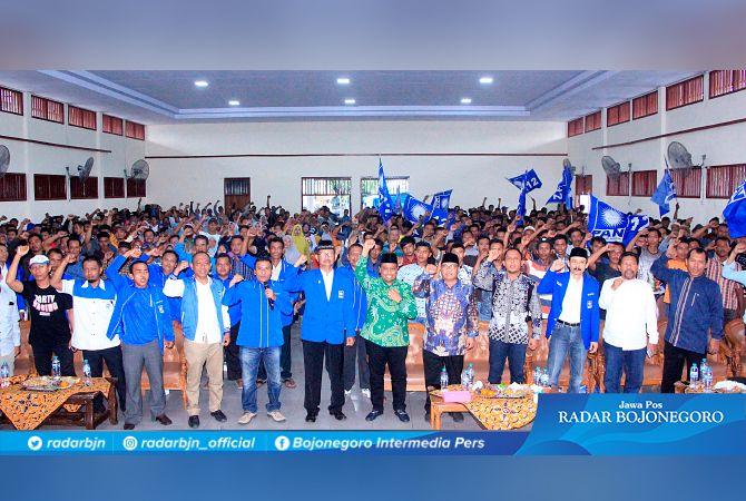 SOLID : Suasana sosialisasi kebangsaan dan memantapkan kemenangan Pilkada Kabupaten Tuban 2020.