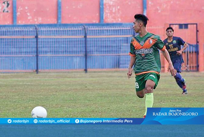 BUTUH EVALUASI : Pemain sepak bola Bojonegoro yang gagal meraih prestasi saat berlaga di Porprov 2019. Tahun ini Cabor Sepakbola perlu evaluasi