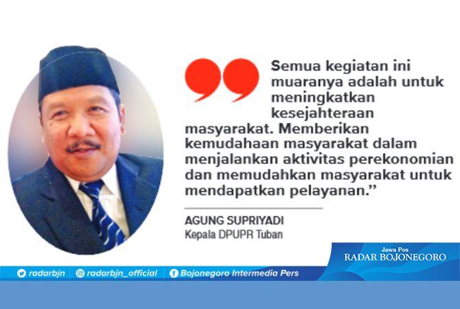 Kepala DPUPR Tuban Agung Supriyadi