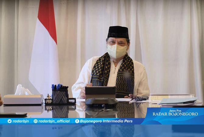 Menko Airlangga Ajak Ulama Sukseskan Prokes Lebaran Idul Adha