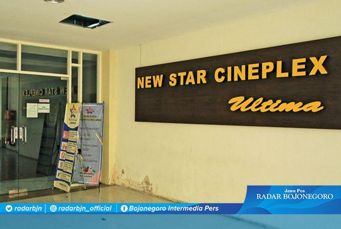BELUM BUKA: Meski tempat hiburan sudah boleh dibuka, bioskop di Lamongan belum operasional. Karena masih mempersiapkan prokes.