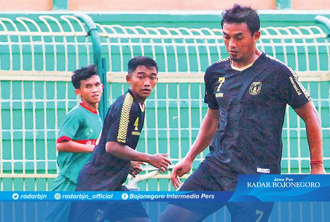 BORONG GOL : Bijahil Chalwa menjadi pemain menonjol dengan empat gol dalam laga uji coba kemarin.