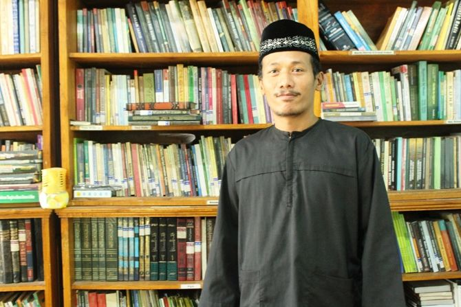 Tim peneliti sejarah Tambakberas, Ainur Rofiq Al Amin.