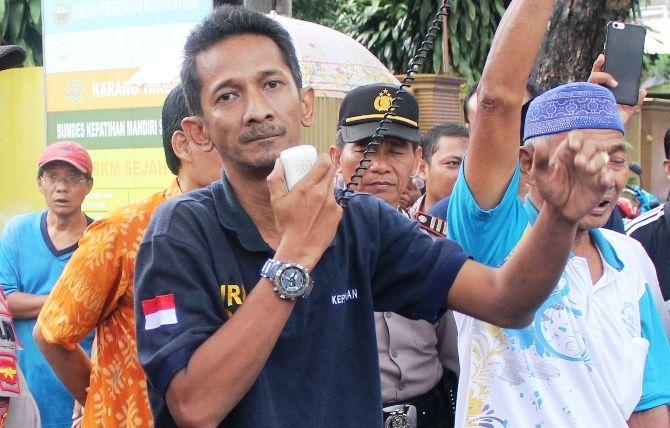 Kepala Desa Kepatihan Erwin Pribadi