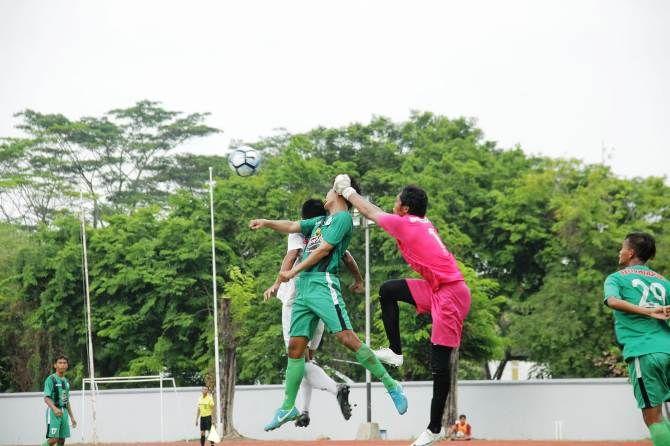 Pertandingan yang dilakoni PSID Jombang saat melawan PS Kota Pahlawan di babak pendahuluan kedua Liga 3 Nasional
