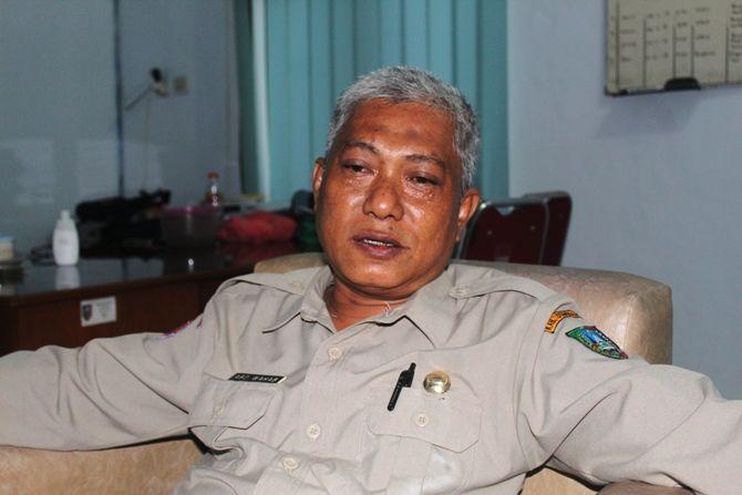 Kepala BPBD Kabupaten Jombang Abdul Wahab