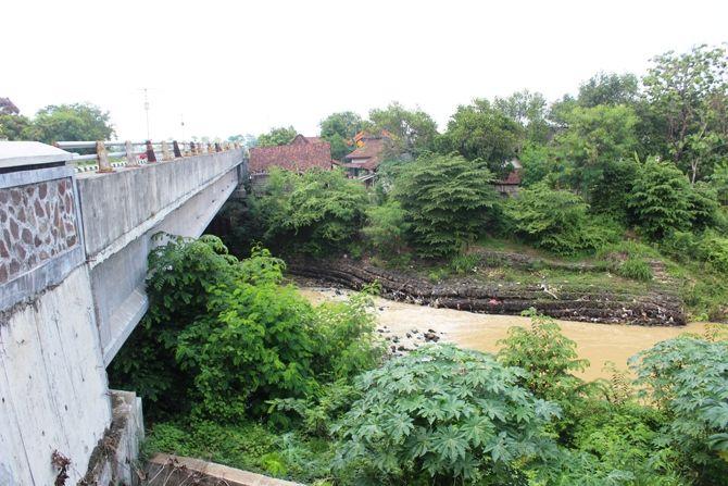 Kondisi bronjong di Kalu Gunting Desa Karobelah, Kecamatan Mojoagung