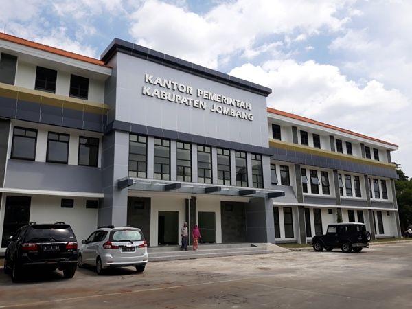 Gedung Sekretariat Daerah Pemkab Jombang ini bakal ditempati dalam waktu dekat.