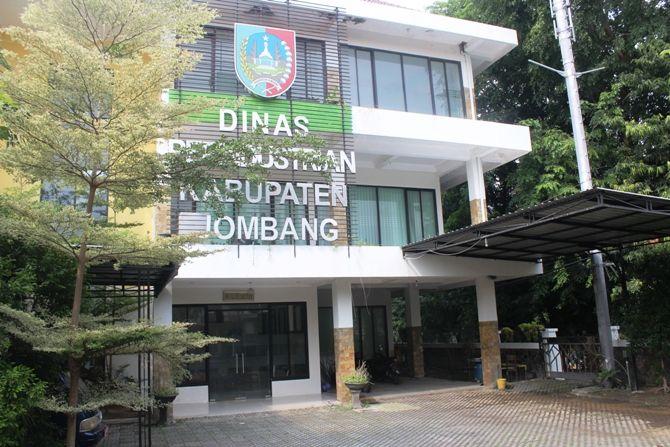 Aset kantor Dinas Perindustrian Kabupaten Jombang