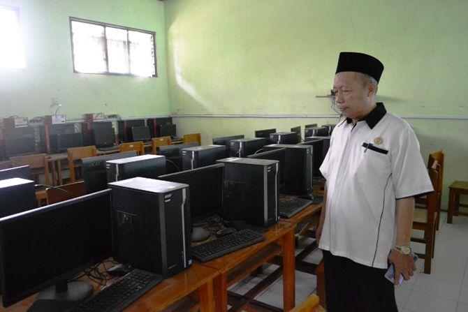 Perangkat komputer yang harus tersedia untuk bisa menggelar UNBK