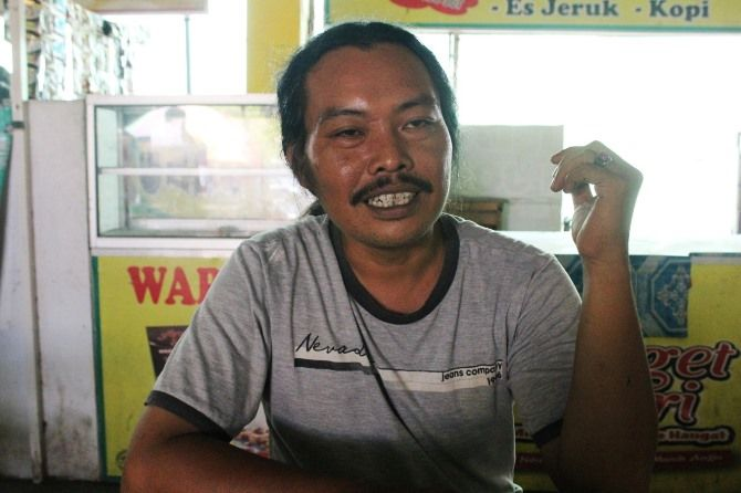 Cucuk Espe, seniman dan sastrawan Jombang.
