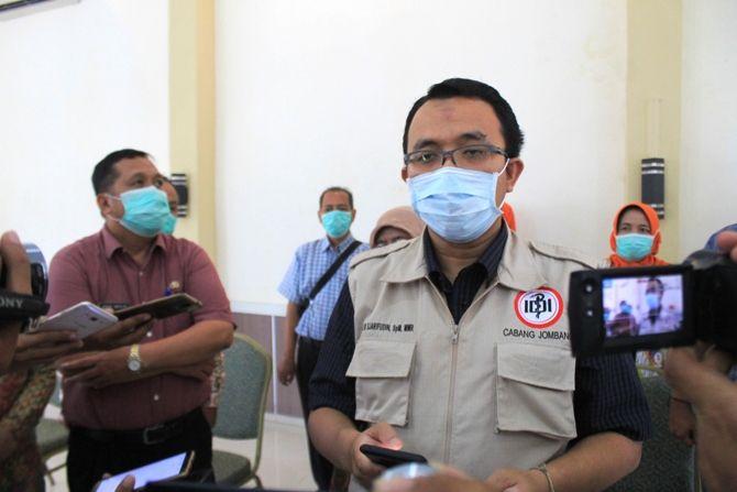 Ketua Gugus Tugas Covid-19 IDI Jombang dr Sjarifuddin