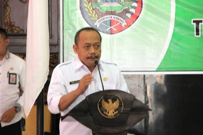 Kepala Dinas Sosial Kabupaten Jombang M.Saleh