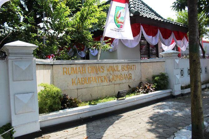 ILUSTRASI: Rumah Dinas Wakil Bupati Jombang