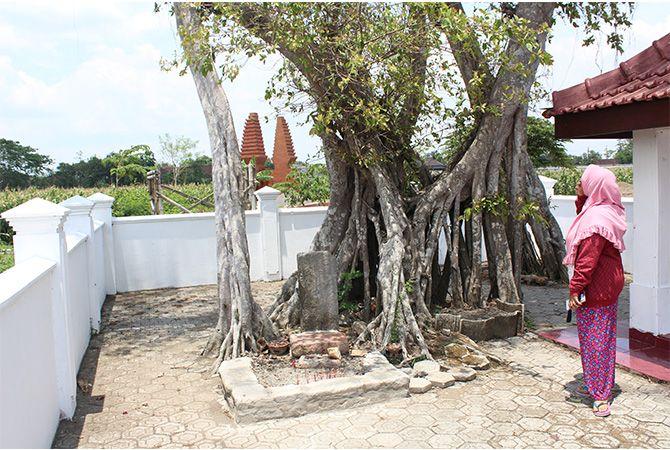 Petilasan Dhamarwulan di Desa Sudimoro, Kecamatan Megaluh.