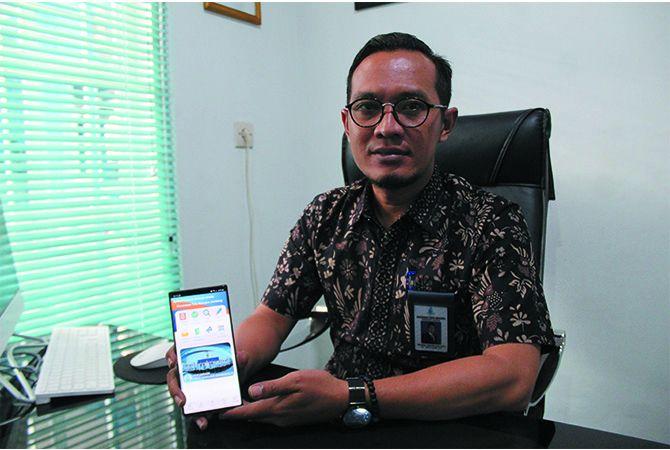 Khoirul Hasyim Direktur Perumdam Tirta Kencana Jombang.