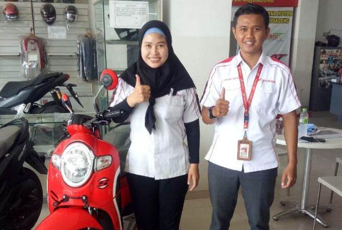 PROMO: Beli motor di Anyar Motor Mojoagung dapat potongan angsuran hingga 30 ribu.