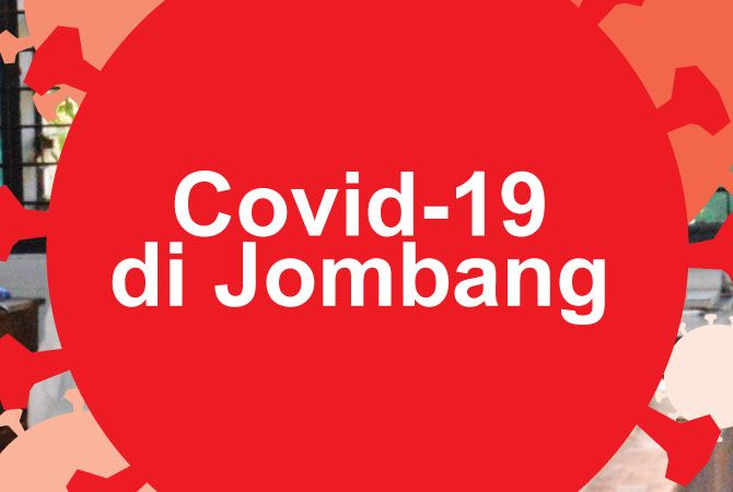 Ilustrasi covid - 19 di Jombang