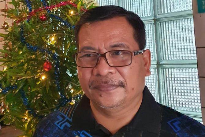 SUPEL: Dr Heri Wibowo mantan Kadinkes Jombang yang merayakan hari raya natal kemarin.