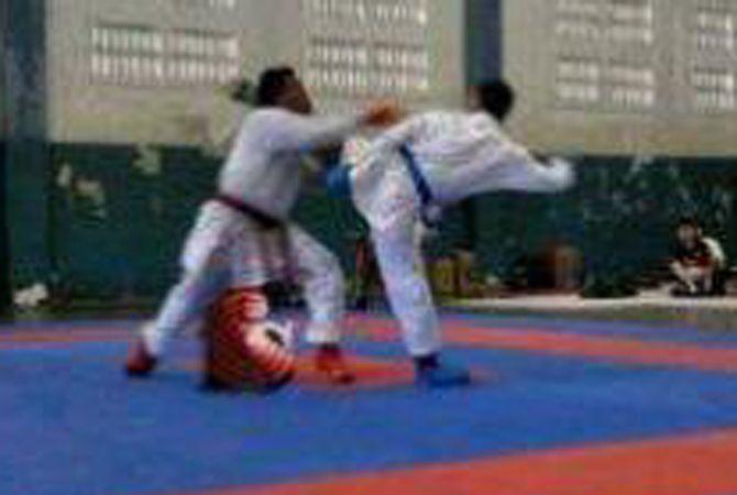 Hirga Yoga Ludiana saat berlaga di salah satu kejuaraan.