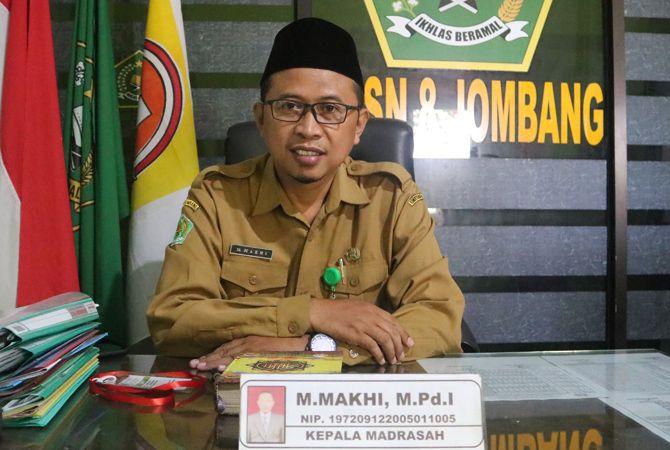 M Makhi Kepala MTsN 8 Jombang