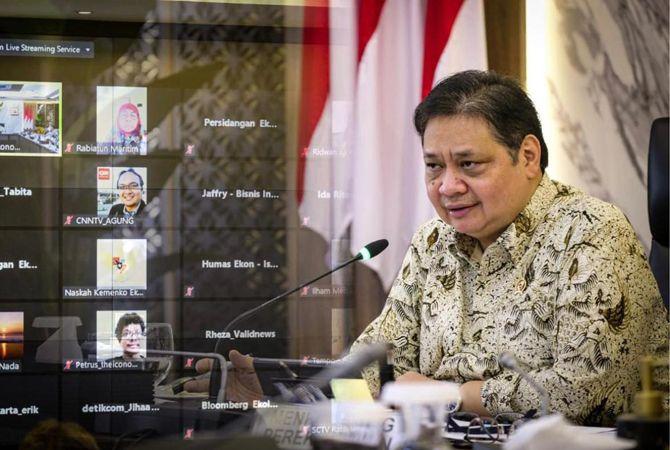 Menteri Koordinator (Menko) Bidang Perekonomian Airlangga Hartarto
