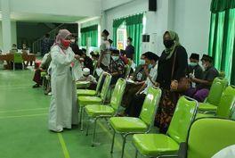 Komisi D DPRD Jombang Sidak Vaksinasi Santri, Sebut Nakes Kurang