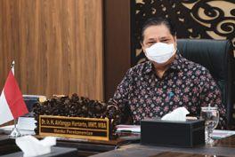 Airlangga Hartarto Menteri Koordinator Bidang Perekonomian