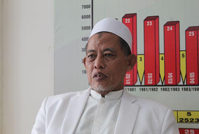 Pengasuh PP Darul Ulum Rejoso sekaligus Ketua MUI Jombang, KH Cholil Dahlan