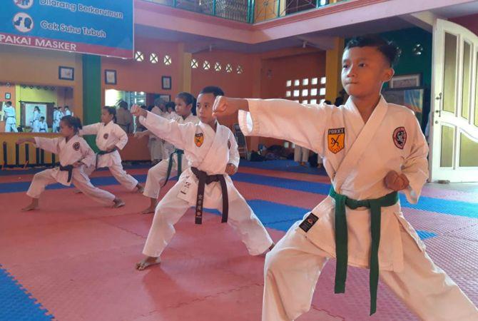 Hari Ini Kejurkab dan Porkab Karate di Jombang