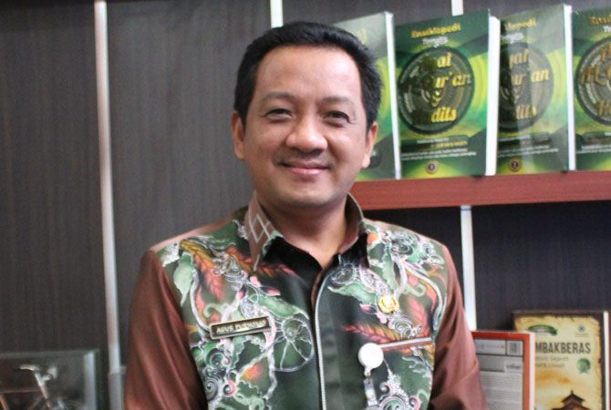 Agus Purnomo Kepala Dinas Pendidikan dan Kebudayaan (P&K) Jombang