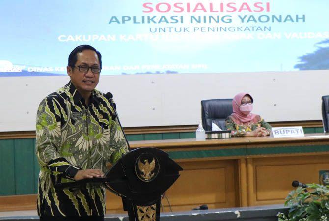 Masduqi Zakaria Kepala Dispendukcapil Jombang