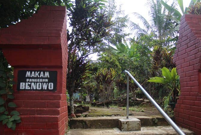 JUJUGAN PEZIARAH: Makam Pangeran Benowo di Desa Wonomerto, Kecamatan Wonosalam jadi jujugan peziarah.