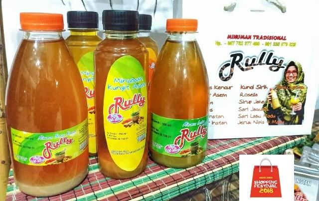 Segarnya Minuman Tradisional Rully