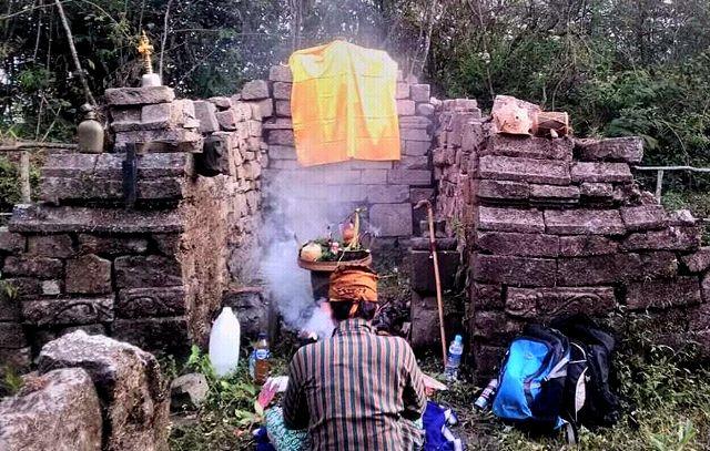 WARISAN LELUHUR: Kondisi situs Plawangan yang saat ini sering digunakan untuk ritual masyarakat sekitar.