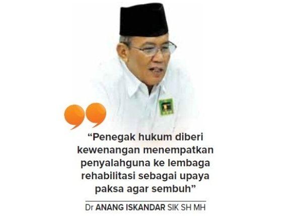 Oleh: Dr Anang Iskandar SIK SH MH
