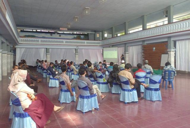 SOSIALISASI: Forum Kampung Bahasa mengundang seluruh anggota FKB dalam acara sosialisasi protokol kesehatan di Kampung Inggris.