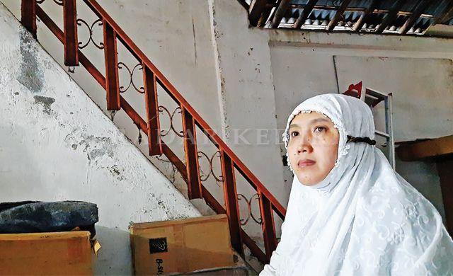 PANGGUNG: Rumah kuno yang menjadi tempat tinggal Mbah Syuaib, bangsawan Bawean yang meramaikan Kampung Kauman.