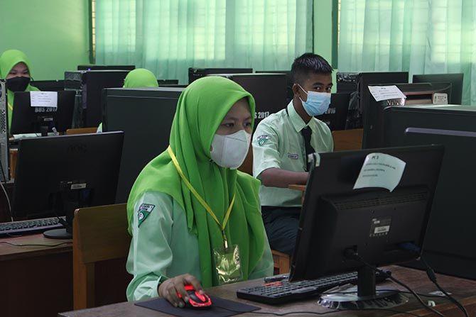 Belasan Ribu Pelajar Kabupaten Kediri Belum Divaksin