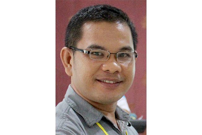 Mustafa Hizkia Simatupang, M.Pd.K.; Guru SMA N 1 Kudus
