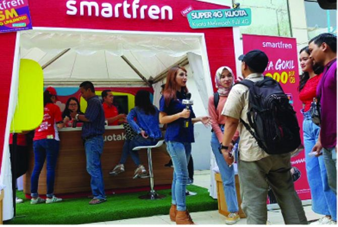 Lebaran 2019, Smartfren Catat Kenaikan Traffic Layanan Streaming